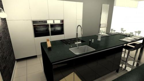 Techplan 3d plans techniques et conception d 39 am nagement for Cuisine et salle de bain 3d